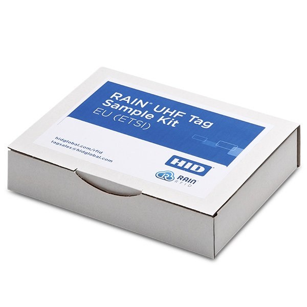 Selected HID UHF RFID Tags - Broadband or EU (ETSI) incl. memory stick with collateral