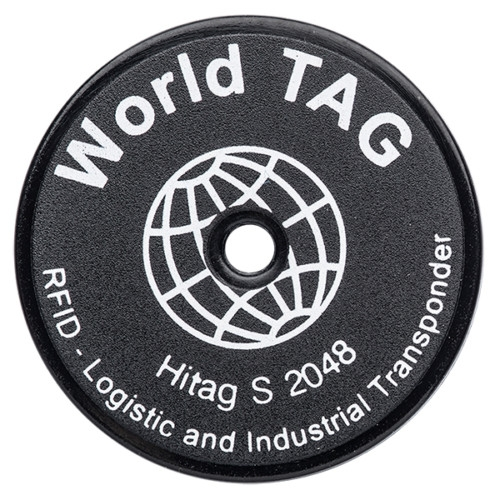 LF disc-shaped RFID Tags for indoor applications.